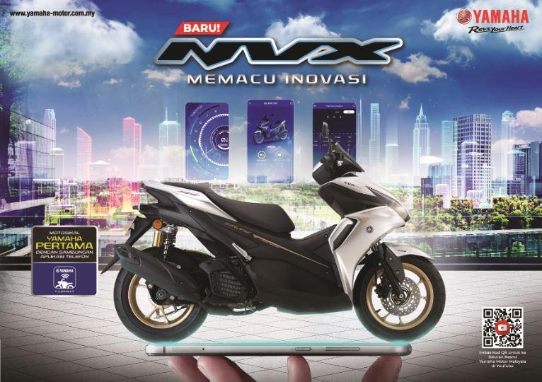 2021 Yamaha NVX Malaysia