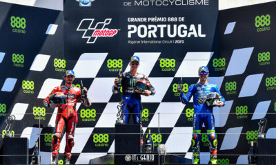 Fabio Quartararo maintains Yamaha's winning streak with a triumph in Portugal.