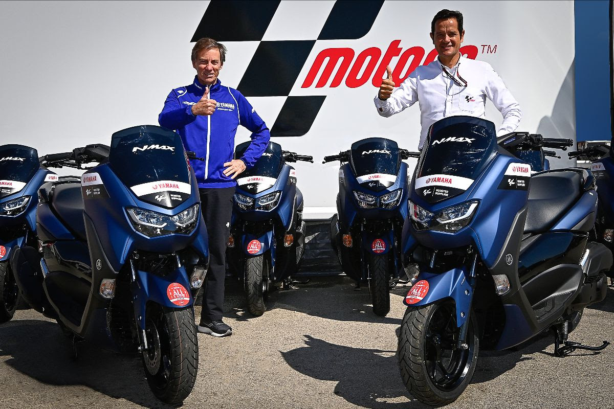 Yamaha and Dorna Sports sign new scooter supplier deal