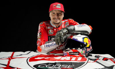 Jack Miller will be on board the Desmosedici GP next year.