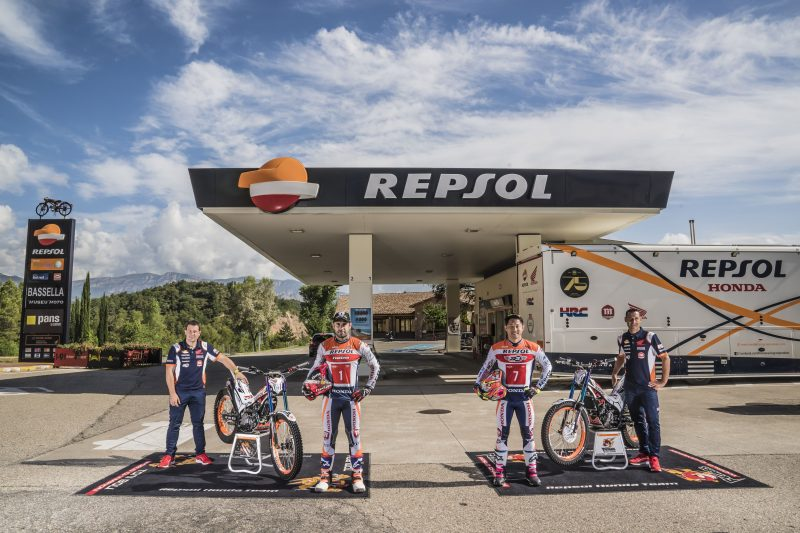 Repsol Honda Team all set for Italy this weekend.