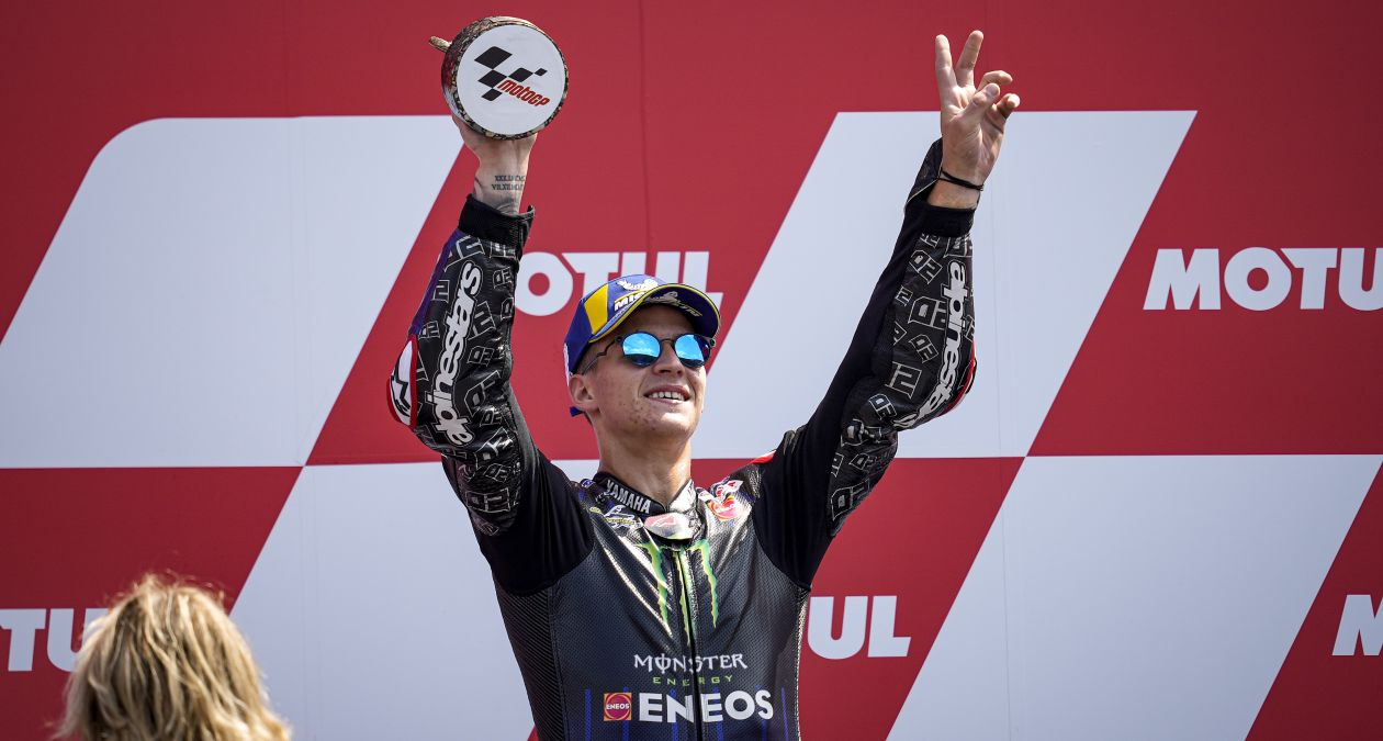 Monster Energy Yamaha team duo claims 1-2 in Assen.