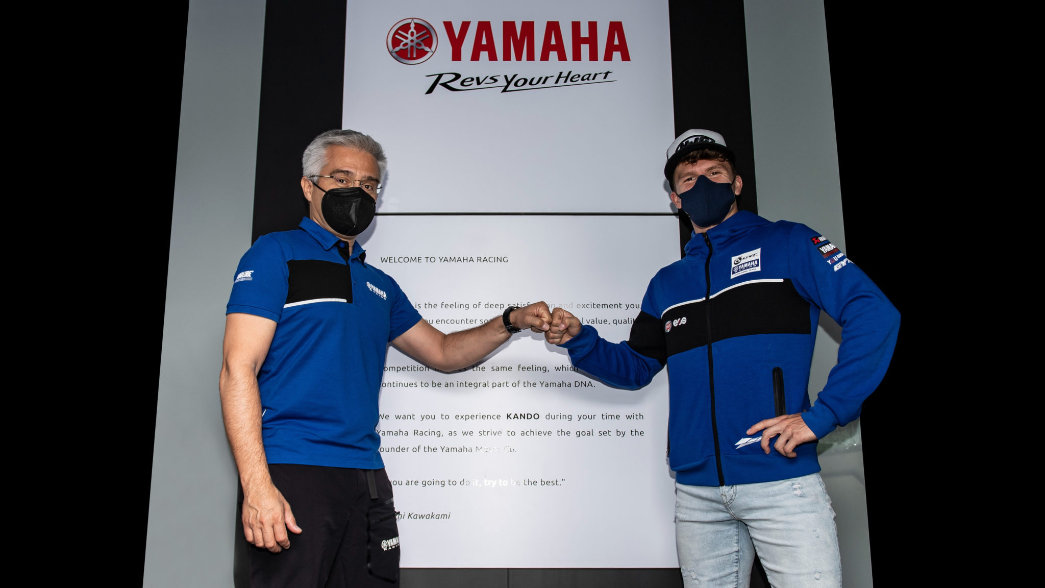 Garrett Gerloff signs with Yamaha for another year.