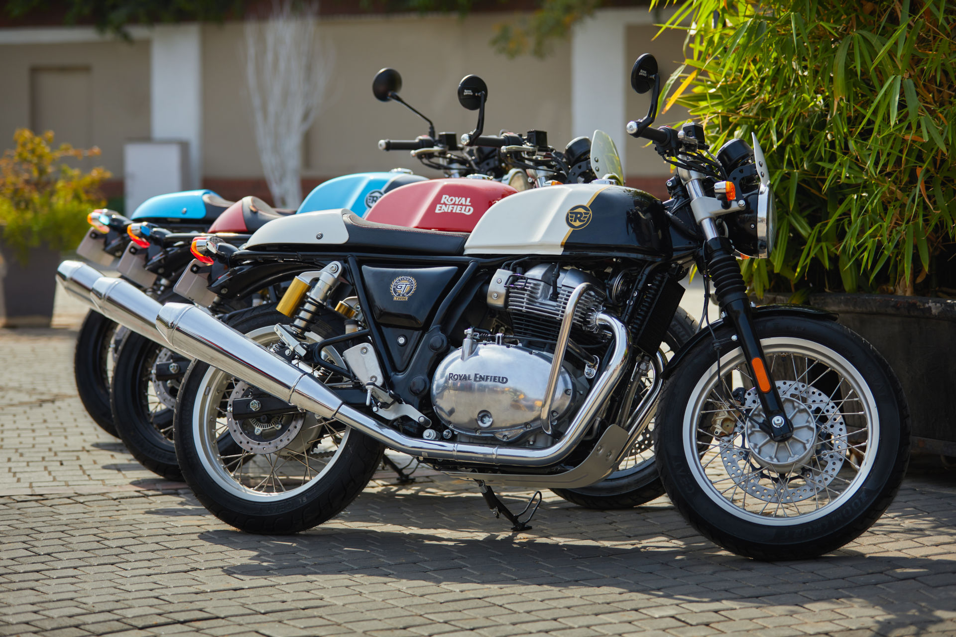 Royal Enfield reveals new colour way for its 650 Twins.