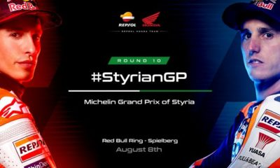 Repsol Honda Team is excited to create new records in the Styrian GP.