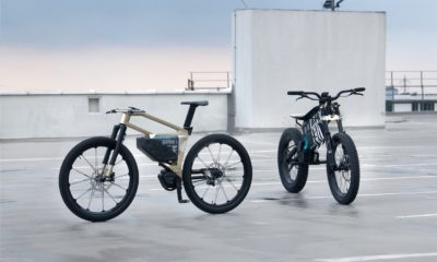 BMW unveils its latest electric bicycle and motorcycle.