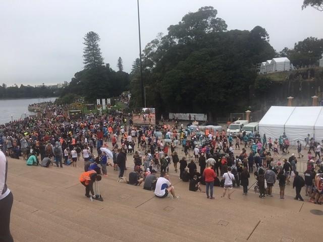 Participation au semi-marathon de Sydney