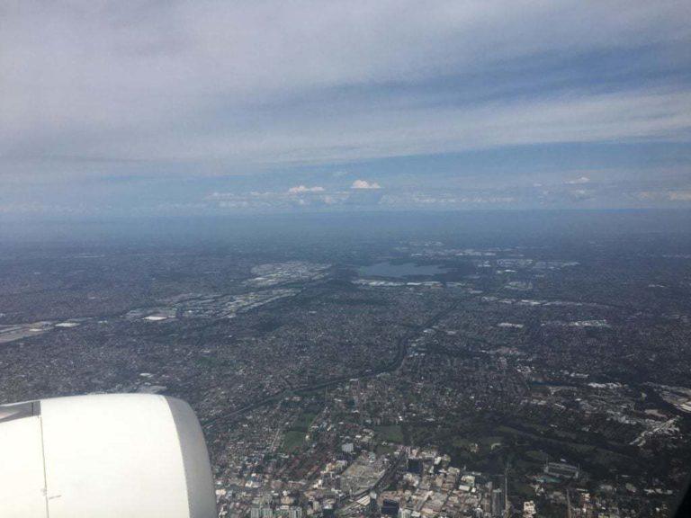 Arrivée à l'Aéroport International de Sydney