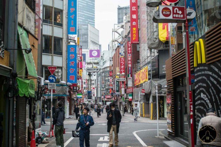 Shibuya Center-gai Shopping Street (Basket Street)