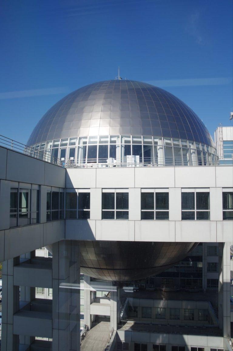 Odaiba, l'île artificielle dans la baie de Tokyo