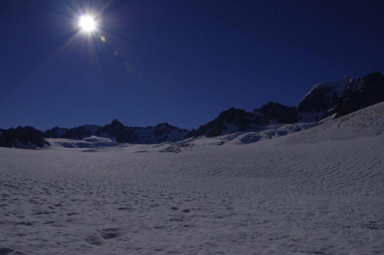 Tour en hélicoptère au dessus du Fox Glacier