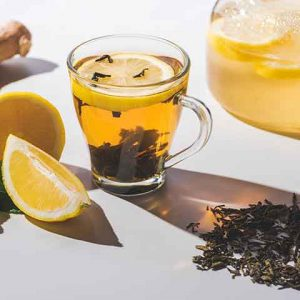 Black Tea Ginger and Lime