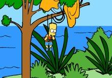 Bart Simpson Island Escape