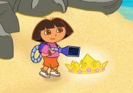 Dora y la aspiradora de basura