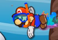 Mario buceador