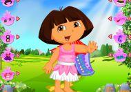 La aventura de vestir a Dora