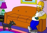 Visita interactiva a la casa de los Simpson