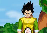 Vestir a Son Gohan, el hijo de Goku