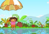 Dora aventura en paracaídas