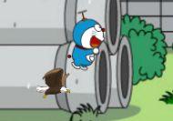 Doraemon y los globos