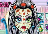 El problema de piel de las Monster High