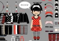 Dress-up emo girl v.03