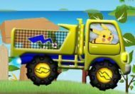 El camión de Pikachu el Pokemon