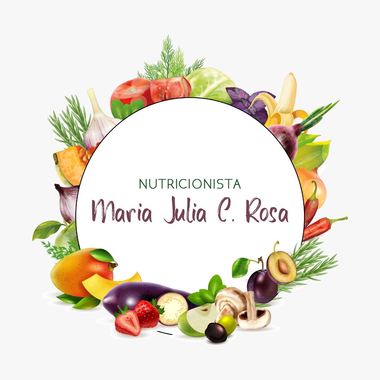 Nutricionista Maria Julia Rosa