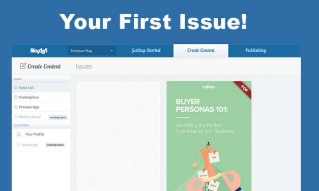 How To Create Your First Magazine Issue