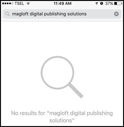 MagLoft App Missing From App Store