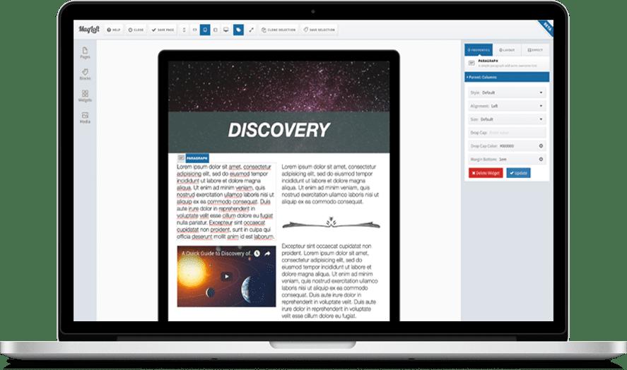 MagLoft Responsive Design Editor TypeLoft