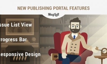 MagLoft Publishing Portal Facelift