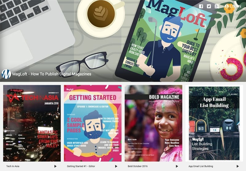 Free PDF Online Magazine Maker