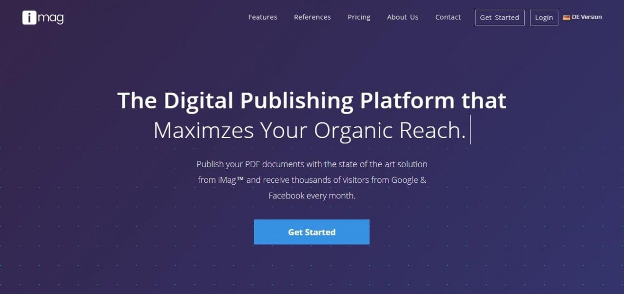 digital publishing platform - imag