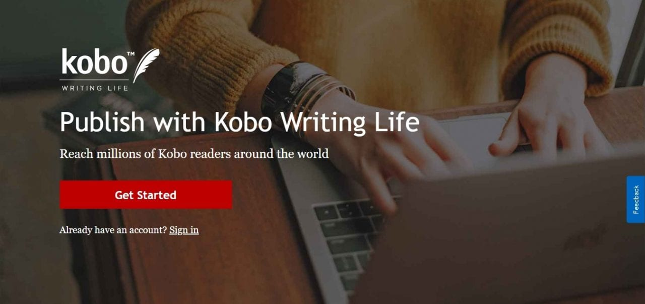 digital publishing platforms - kobo