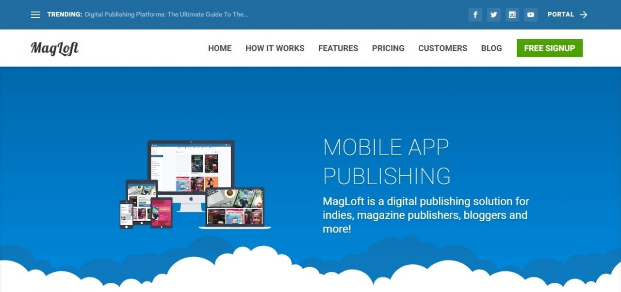 digital publishing platforms - magloft