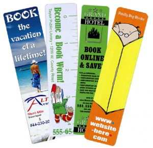 print bookmark advertising