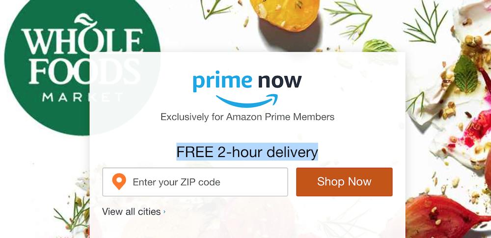 아마존의  빠른 배송 통합 전략: 프라임 나우 서비스 종료