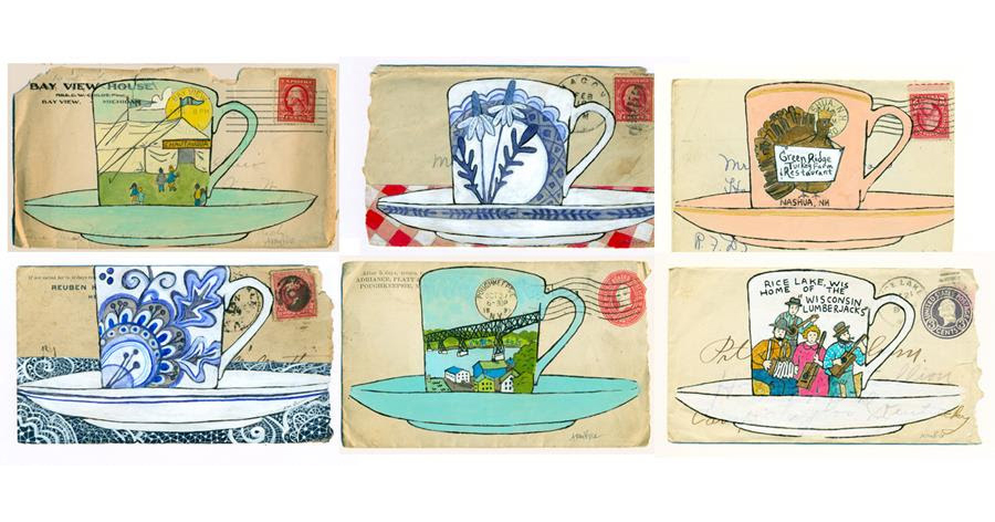 Souvenir Tea Cup: A Series