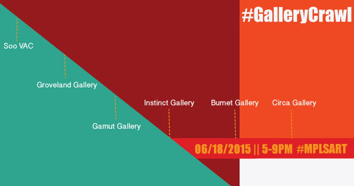 Don't miss the Minneapolis #GalleryCrawl