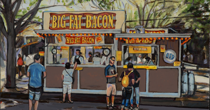Big Fat Bacon and Other Paintings