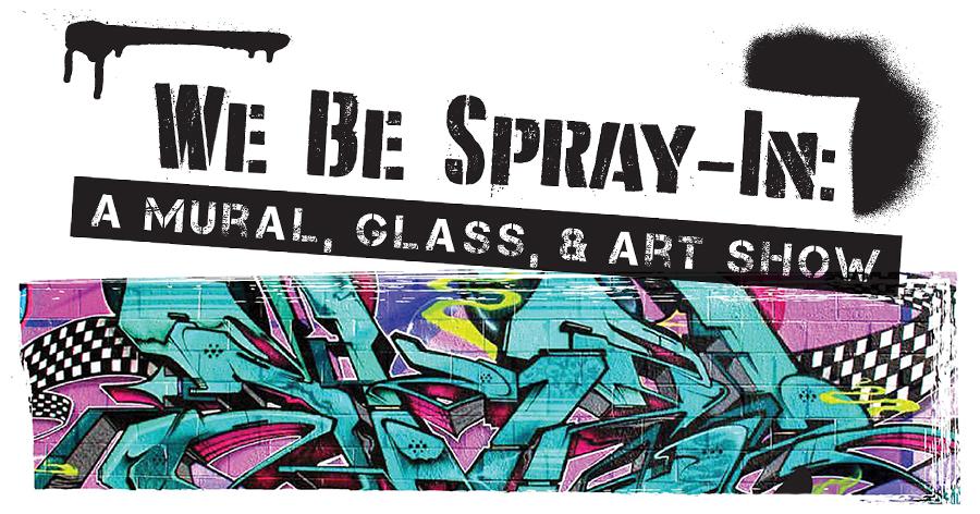 We Be Spray-In