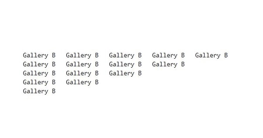Gallery B Grand Opening