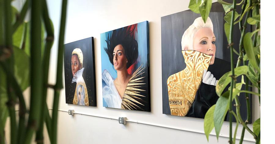 Art at the Hive  /  Natalia Berglund