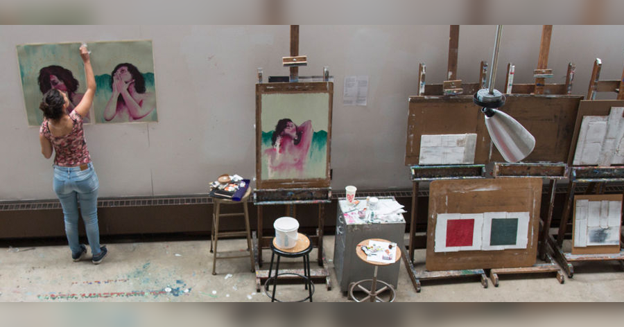 Work from the 2019 Women's Art Institute Summer Studio Intensive