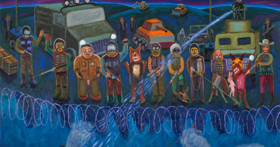 Standing Rock Paintings