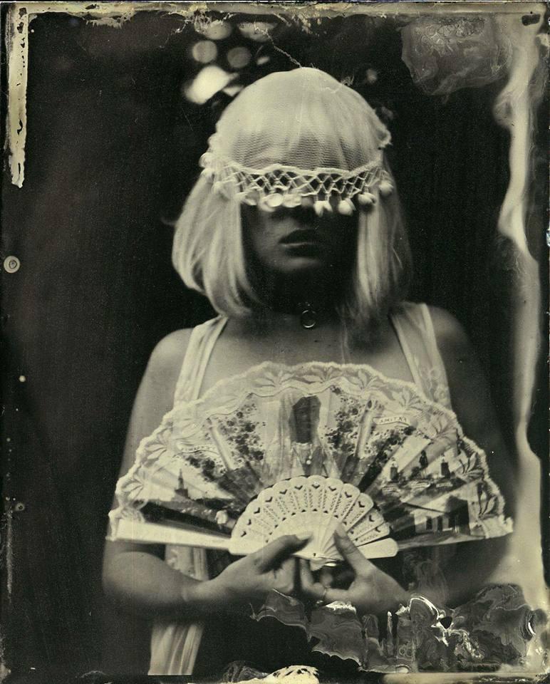 Carla Alexandra Rodriguez, tintype portrait