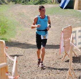 Yohan Samanich était plutôt frais à l'arrivée des 15 kilomètres, hier matin, mais heureux d'en avoir fini.