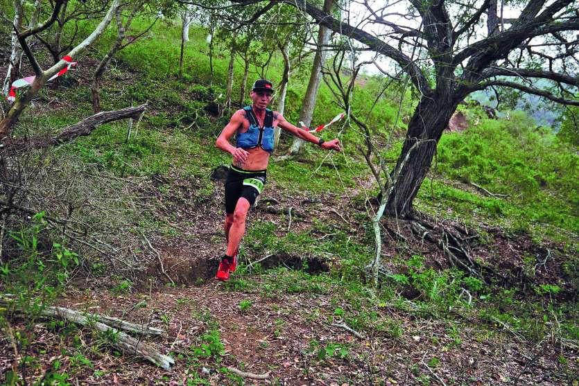 Yohan Samanich a pris la tête dès le début de la course et ne l'a jamais lâchée. Photo MRB
