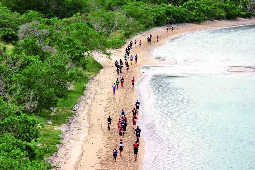 Comme l'an dernier, les coureurs auront droit à un passage sur la plage lors du Xterra. Photo Archives LNC